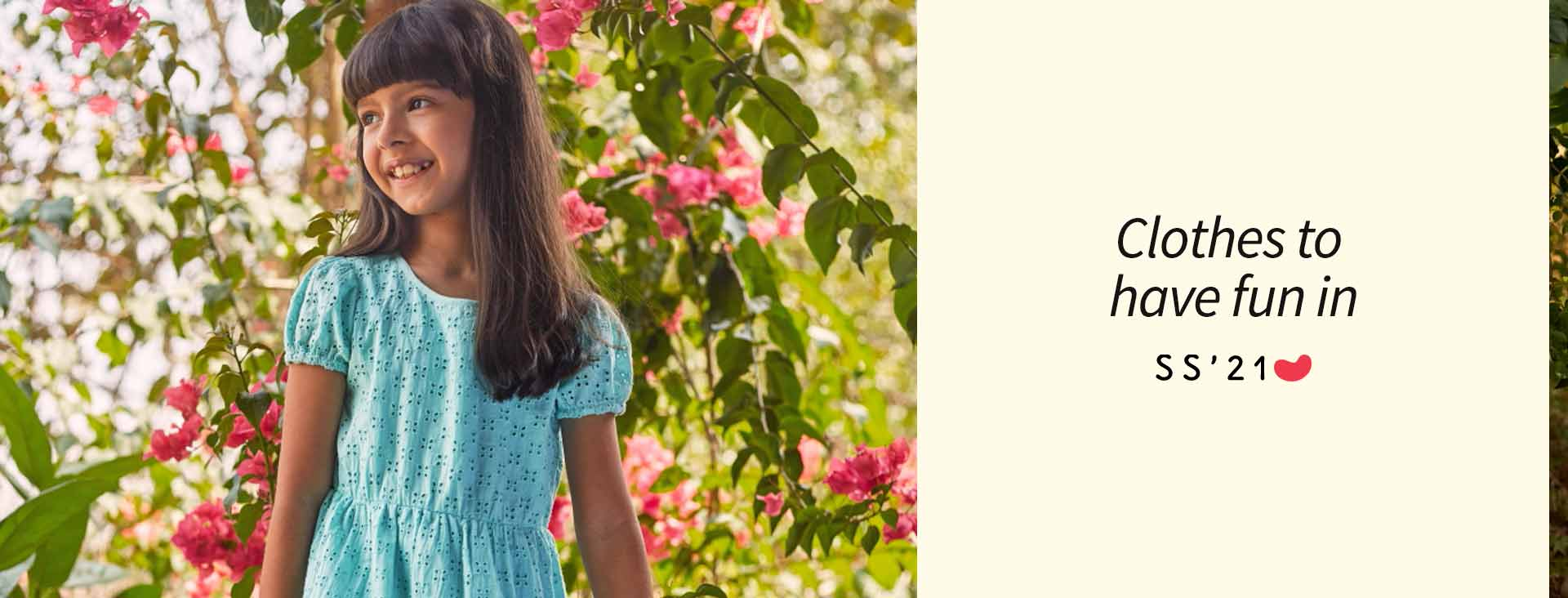 With colourful prints,  pleats and ruffles, our dresses are perfect for playdates